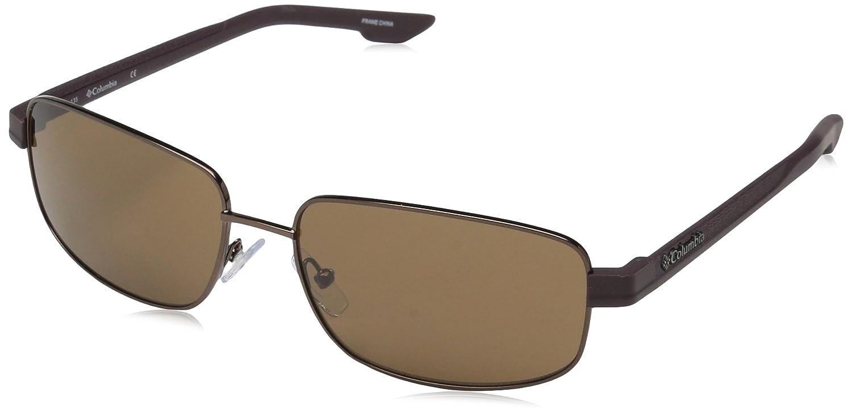 Columbia Mens Cliff Haven Rectangular Sunglasses