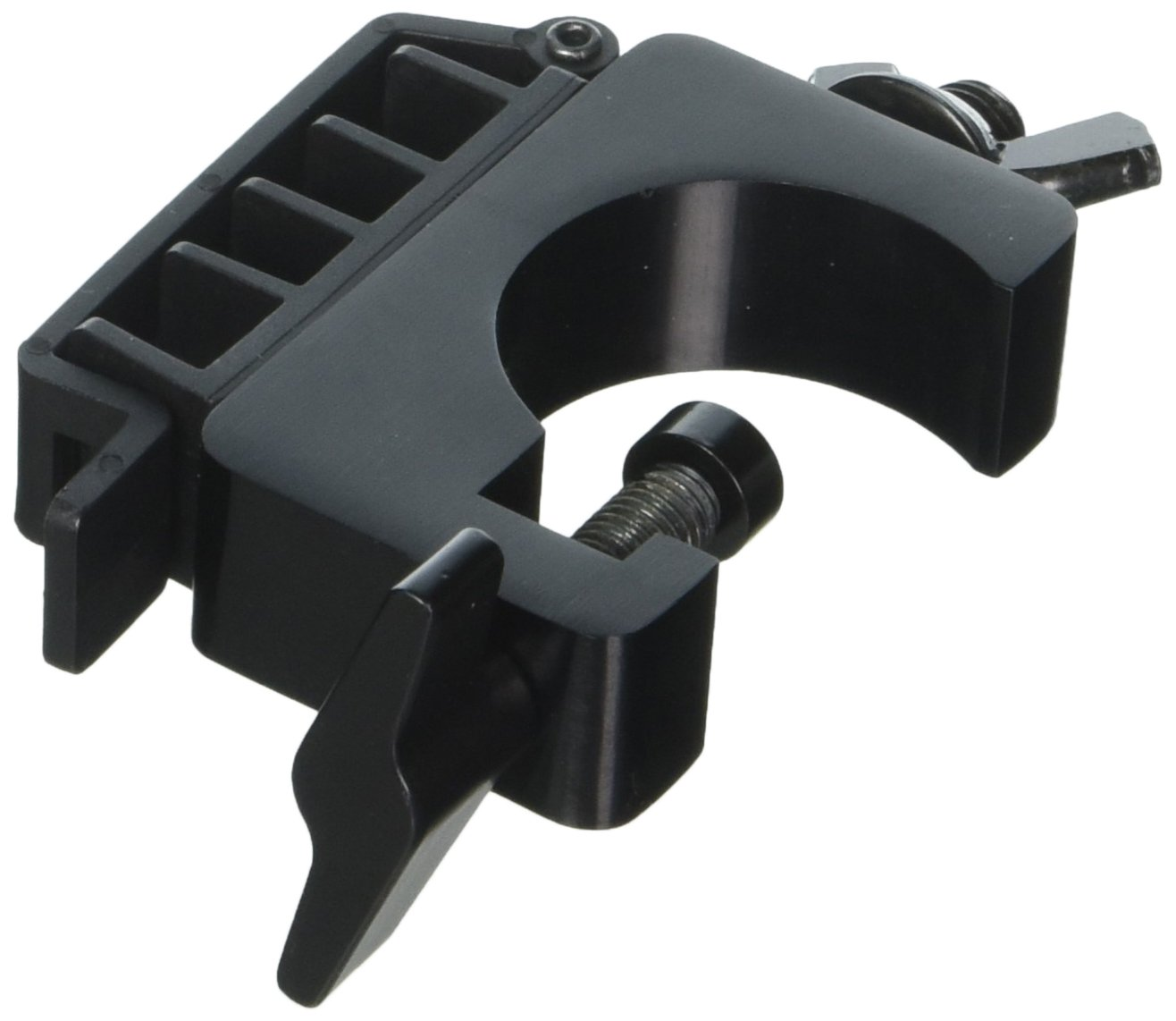 On-Stage LTA4770 Lighting Clamp with Cable Management System for Lighting/Speaker Stands (Pair) On Stage