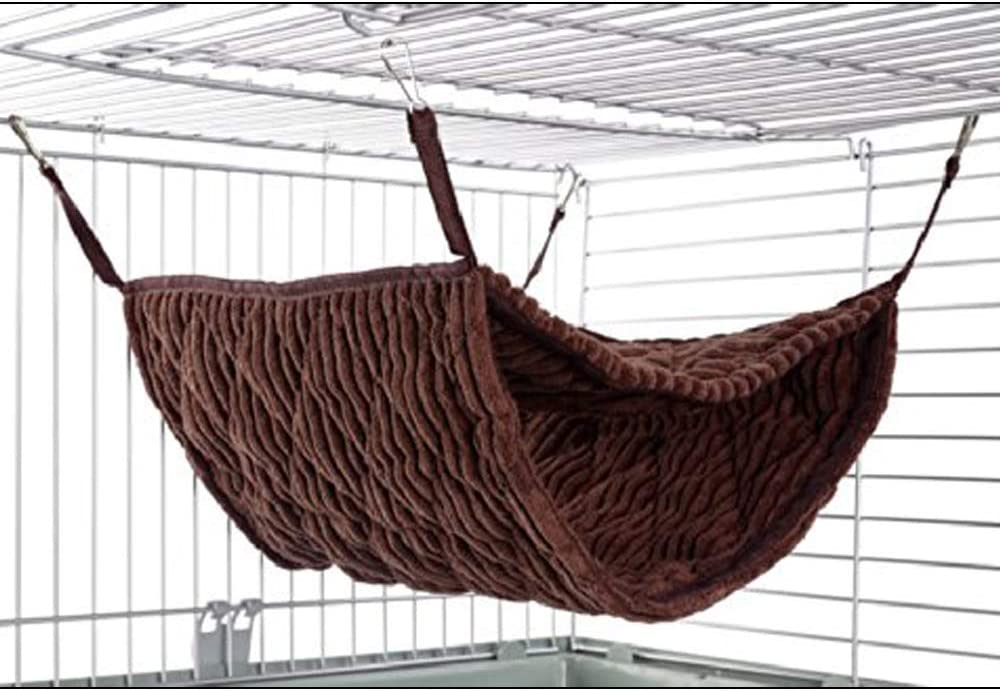 Giant Double Bunkbed Hammock Luxury Chocolate Color for Pet