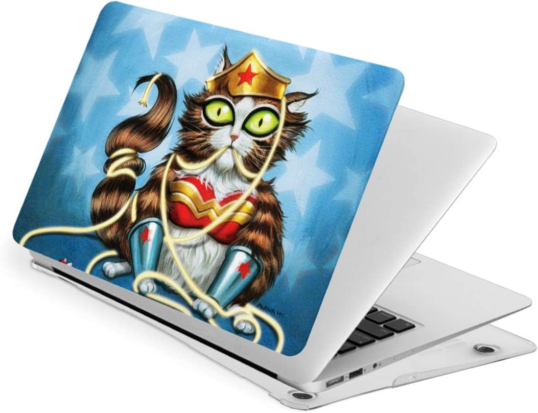 Cat Blue Laptop Case Waterproof Laptop Case Cover Fashion Fully Protect Computer Plastic Case Hard Shell Cover Laptop Sleeve Case for New air13