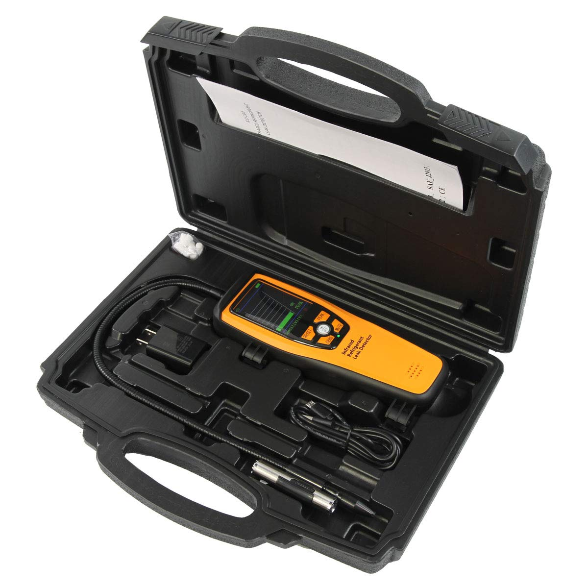 Elitech ILD-100 Advanced Refrigerant Leak Detector Halogen Leakage Tester Rechargeable 10 Years Life