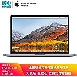 【618年中大促】Apple MacBook Pro MR9R2CH/A 13.3英寸笔记本电脑 配备Touch Bar和Touch ID 2.3GHz 四核第八代 Intel Core i5 处理器 8GB 512GB固态硬盘 深空灰色 套装含13/15英寸尼龙电脑包 可开增值税专用发票