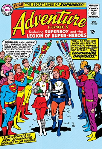 Legion of Super-Heroes: The Silver Age Omnibus Vol. 2 (Super Heroes Age Silver)
