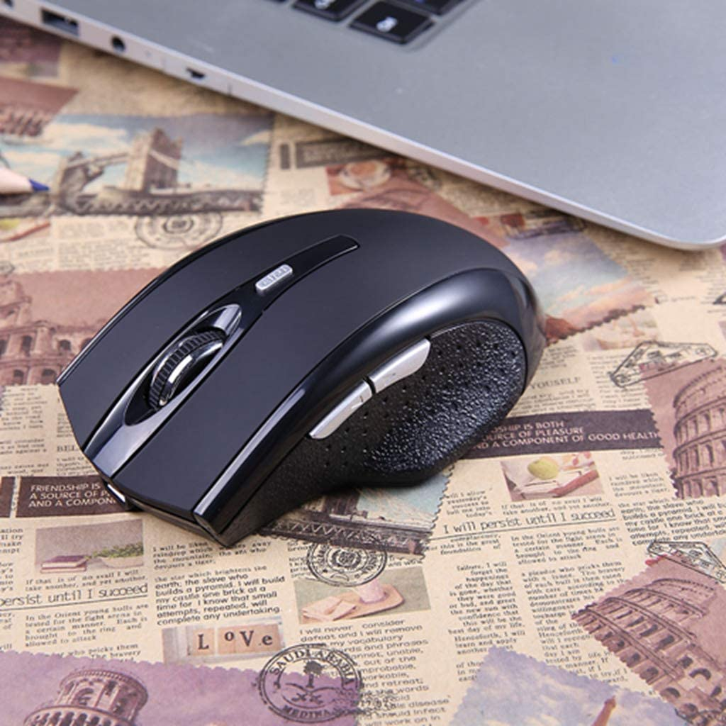 BINGFEI Rechargeable 1600DPI 4Buttons Bluetooth Wireless Mouse Optical Mice for Pc Laptop Computer