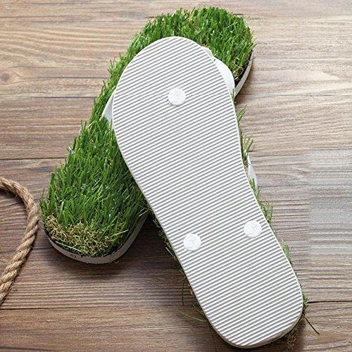 personalità donne usura HQuattro antiscivolo pantofole a 37 spina di stagioni prato bianco gomma e H anti uomini simulazione pesce in IwgRdXXq