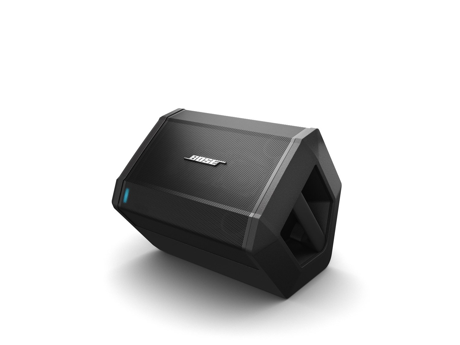 Bose S1 Pro Bluetooth Speaker System w/ Battery, Black - 787930-1120 4 Big sound from a rugged speaker that goes where you do Wireless Bluetooth pairing and inputs for a microphone or musical instrument such as a keyboard or guitar Built-in sensors and multiple aiming positions for optimal sound in any nearly position