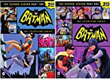 Batman: Complete Second Season - Part 1 & Part 2 Classic TV Series featuring Batman, Robin and Batgirl & Catwoman