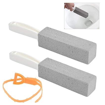 Foccts 3pcs Taza De Inodoro Piedra Pómez Corchos De Limpieza Piedra