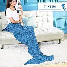 Mermaid Blanket Tail (blue)