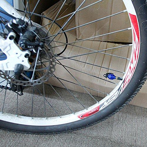 SONONIA 2組 お買い得 耐久性 自転車 タイヤバルブキャップ エアバルブキャップ 手榴弾形