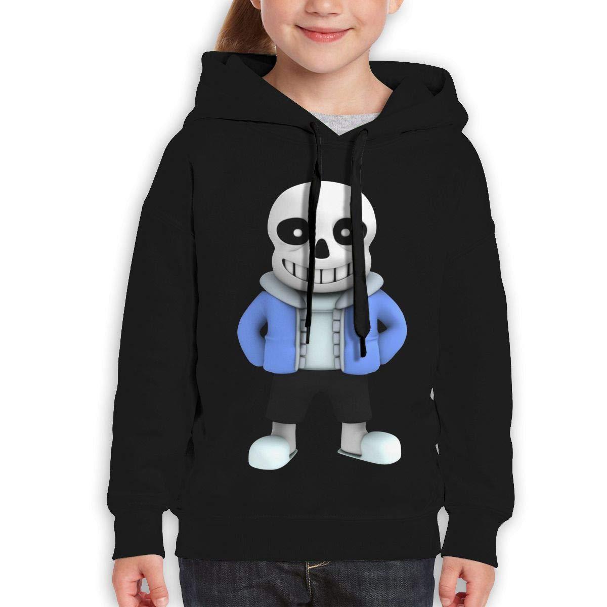 Guiping Undertale1 Teen Hooded Sweate Sweatshirt Black