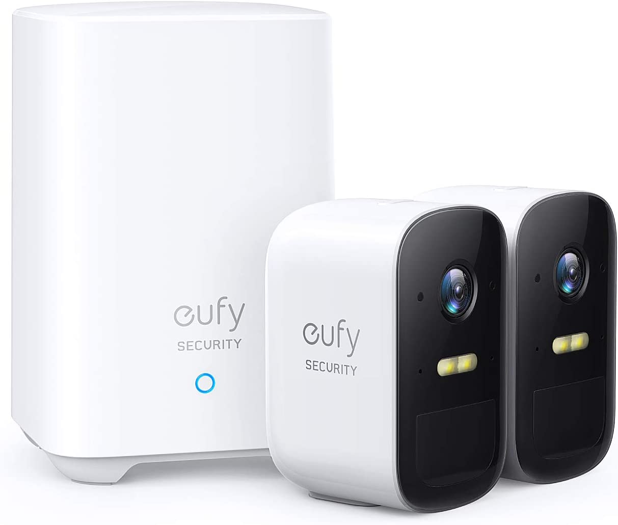 eufy Security, eufyCam 2C 2-Cam Kit, Wireless Home Security System with 180-Day Battery Life, HomeKit Compatibility, 1080p HD, IP67, Night Vision, No Monthly Fee