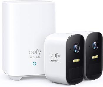 Eufy Security eufyCam 2C 1080p Wireless Home Security 2-Camera System