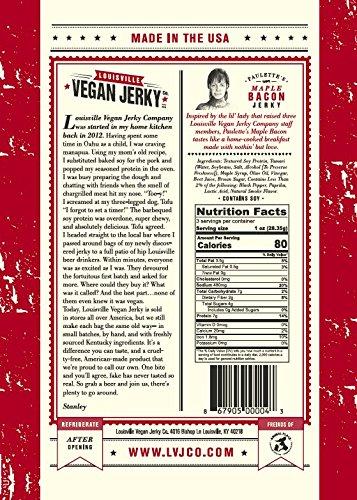 Louisville Vegan Jerky - Maple Bacon, 3 oz. Bag