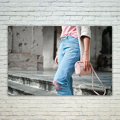 Gucci Denim Handbag - 5