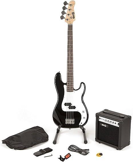 RockJam Super Kit de bajo completo con amplificador de guitarra ...
