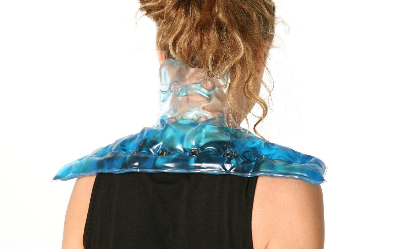 Con un golpe de calor diseño con motivos geométricos haga clic en de la terapia para calentar piedras de masaje Gel de la almohadilla de vestido con escena ...