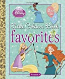 Disney Princess Little Golden Book Favorites, Volume 3