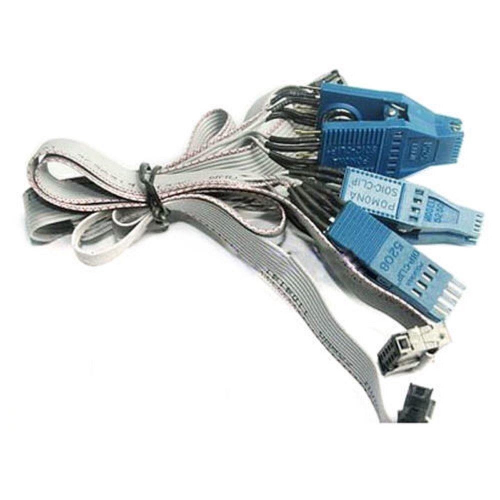 Autool POMONA 5250 soic 8 pin + 5208 dip 8 pin+ 5251soic 14 pin Eeprom Clip