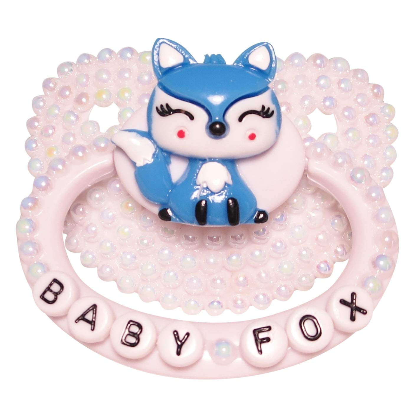 Baby Bear Pacis Adult Pacifier''Baby Fox'' White Adult Paci (DDLG/ABDL) by Baby Bear Pacis