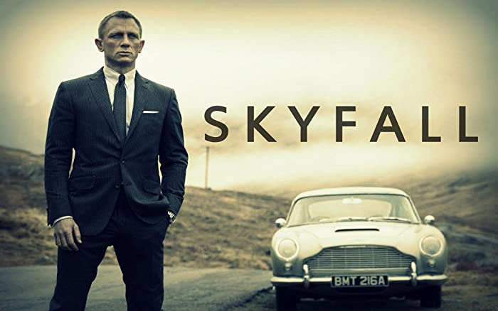 Remarkable Poster's James Bond Daniel Craig Skyfall Movie 12 x 18 Inch Poster Ultra HD Multicolour Unframed Rolled Print Great Wall Decor