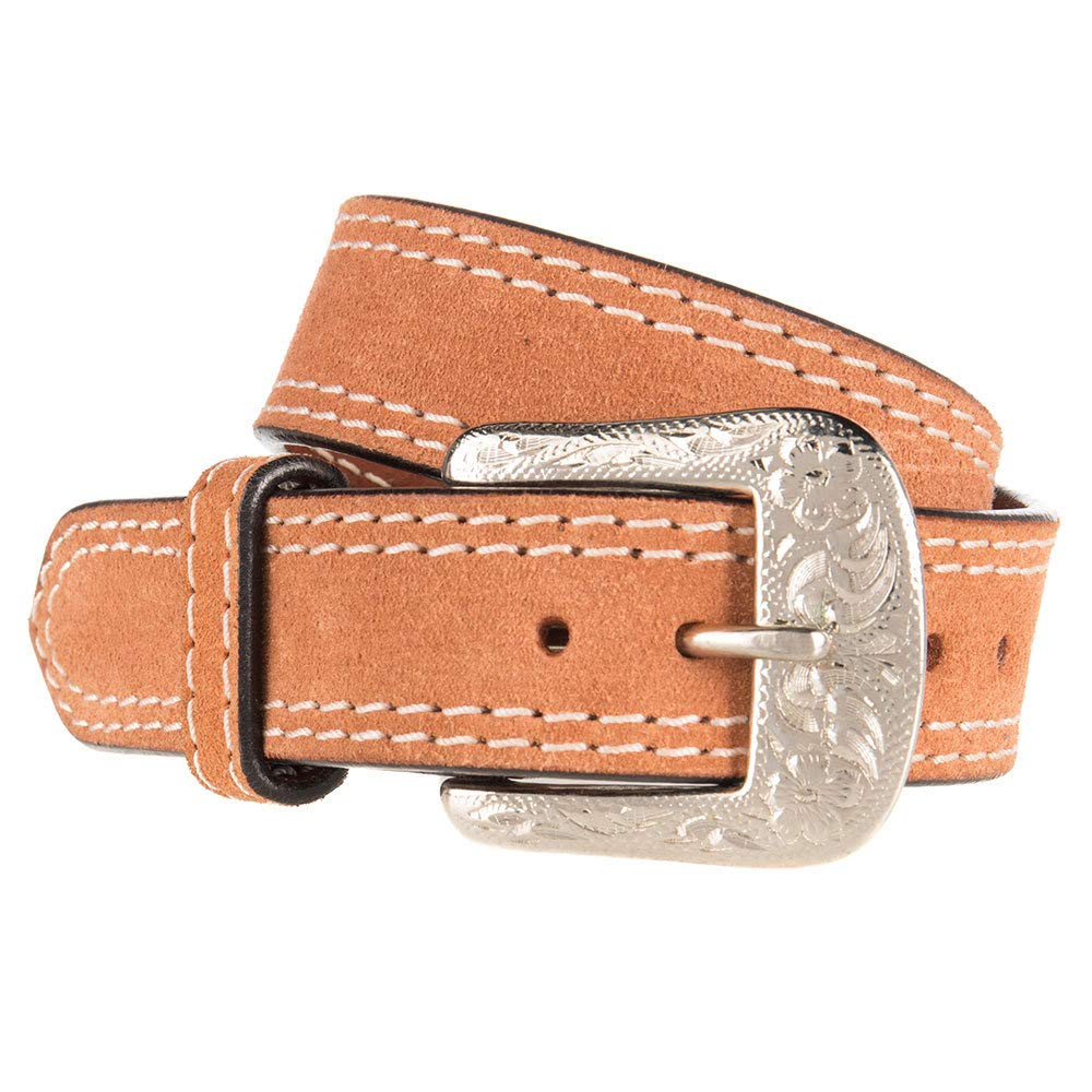 Western Fashion Accessories Boys Kids Rough Out Belt 28 Roughout
