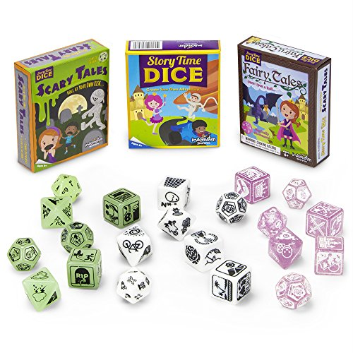 Never-Ending Story Bundle: Story Time Dice Plus Scary Tales and Fairy Tales Expansions by Imagination Generation by Imagination Generation