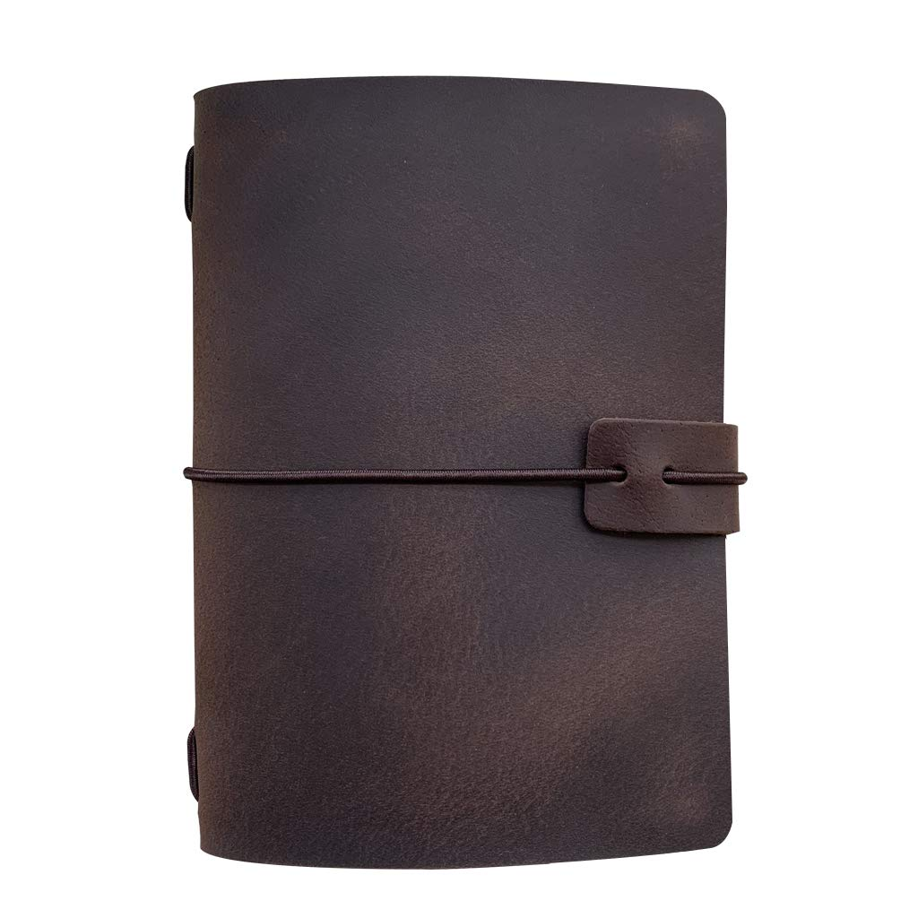 Refillable Leather Travelers Notebook - Passport