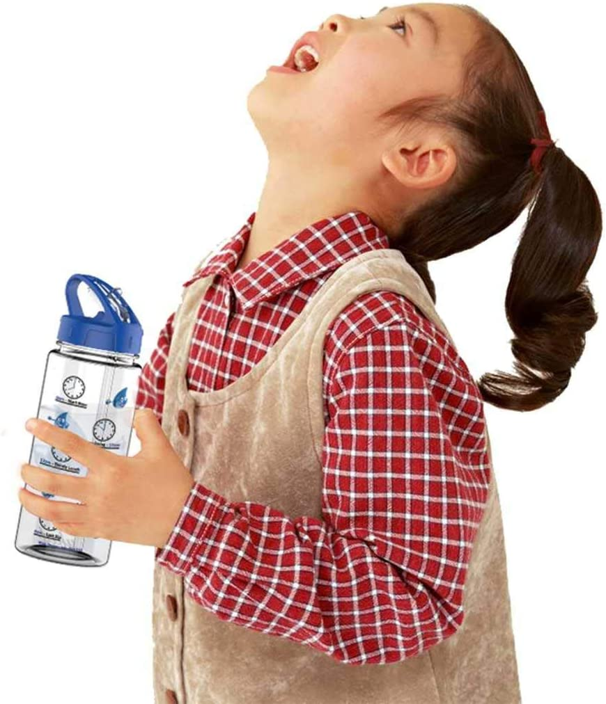 Health /& Wellbeing 500ml Clock Face Hydrater for Kids//Children by YKTD minis ~ Leak Proof BPA Free ~ Clock Face Hydrater Educational Fun Design ~ Fitness