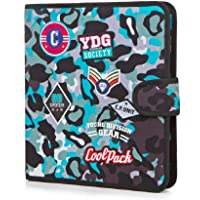 Carpeta de Anillas Mate Camo Blue Badges