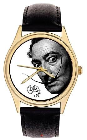 Reloj de pulsera con diseño de tributo a Salvador Dali Surreal: Amazon.es: Relojes