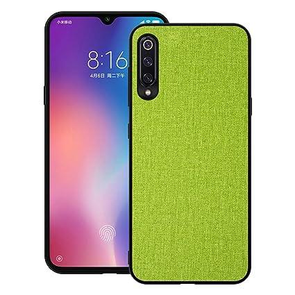 Amazon.com: Funda para Xiaomi Mi 9/Mi 9 SE Slim TPU 3 en 1 ...