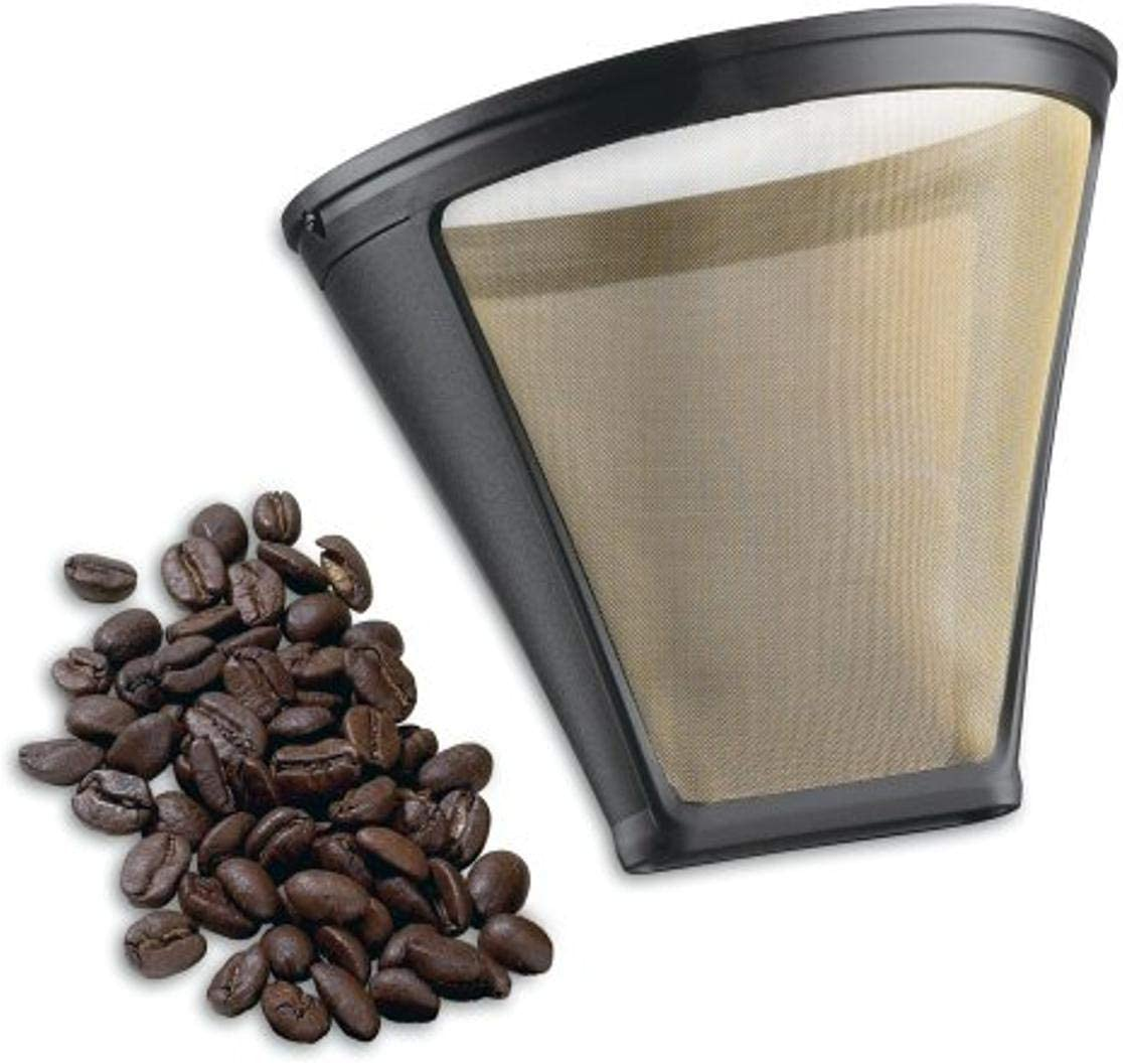 Cuisinart Gold Tone Filter for Cuisinart 4-Cup Coffeemakers, Gold/Black