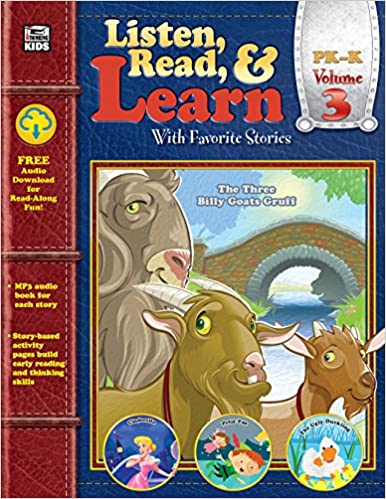 Amazon com: Listen, Read, & Learn Volume 3 (9781483835167