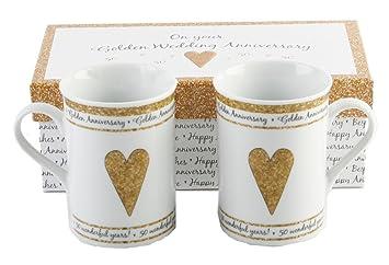 50th wedding anniversary golden gifts