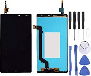 Wangl Lenovo Spare LCD Screen and Digitizer Full Assembly for Lenovo Vibe X3 Lite / K51c78 (Black) Lenovo Spare (Color : Black)