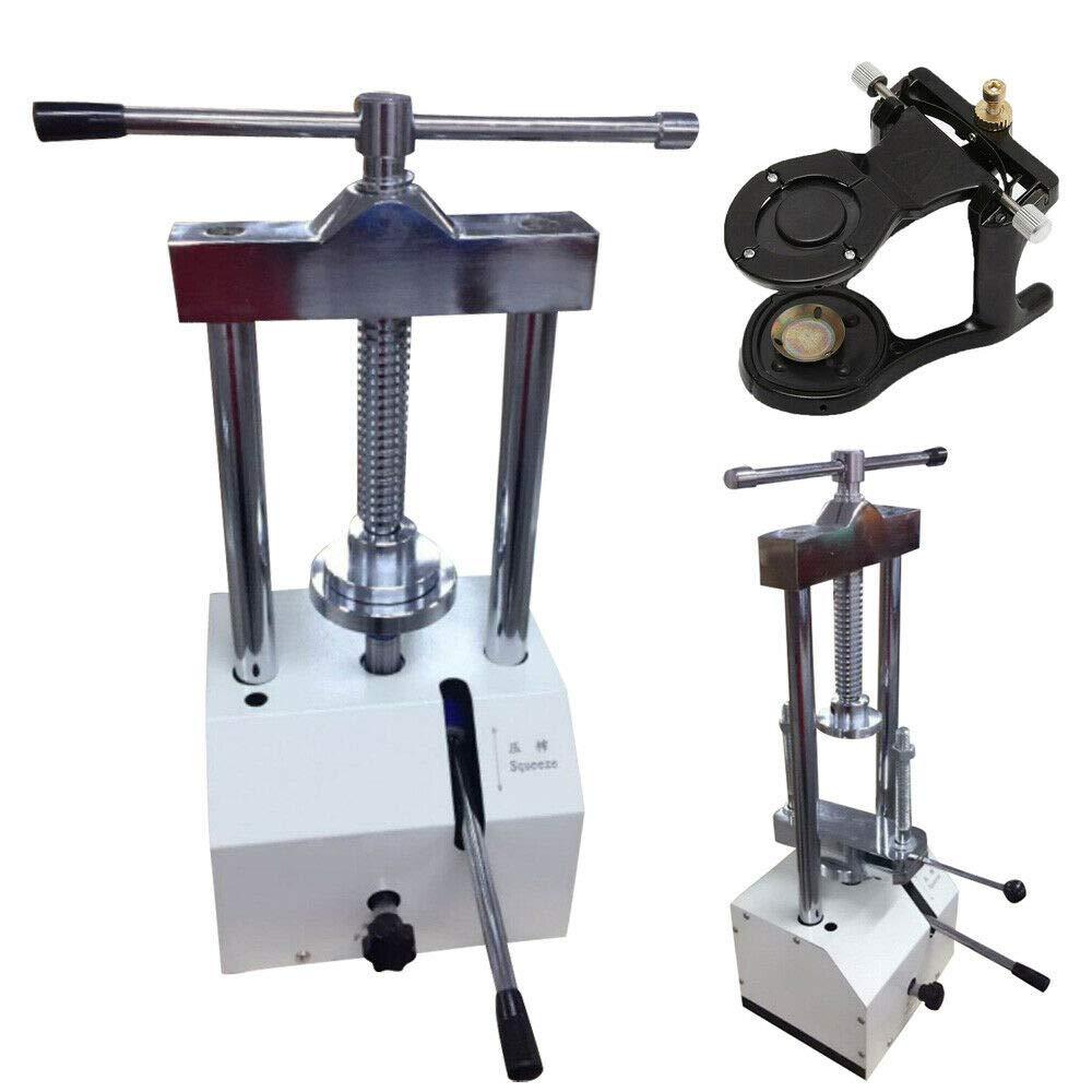D-e-n-t-a-l Lab Hydraulic Press Flask Presser Pressure Pressure with Articulator Safe