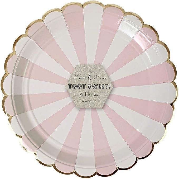 Meri Meri Pale Pink Side Plates