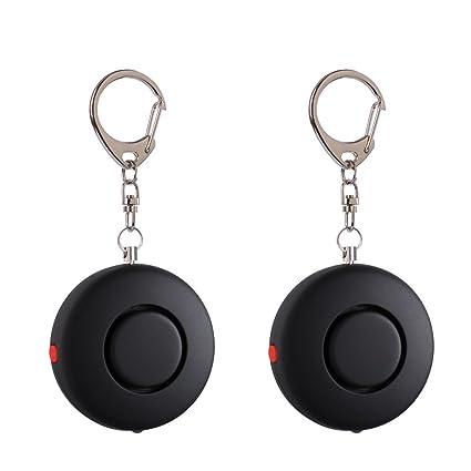 2 Pack mengde 120 db alarma Personal de emergencia seguridad ...