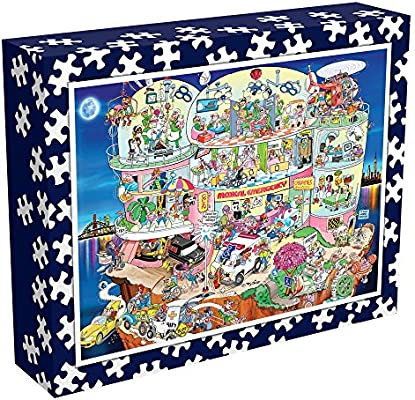 Wacky Hospital Ceaco Perfect Piece Count Puzzle