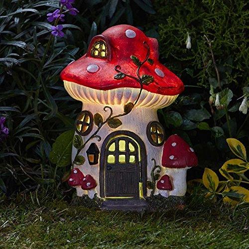Mushroom Solar House 27 x 19cm 1020986 ()