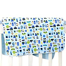"Mixmax Baby & Toddler Waterproof Bamboo Fiber Flannel Washable Diaper Changing Mat Pad for Baby Cribs,stroller (27""*31"")"