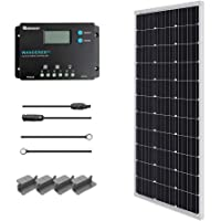 Renogy 100 Watts 12 Volts Monocrystalline Solar Starter Kit photo