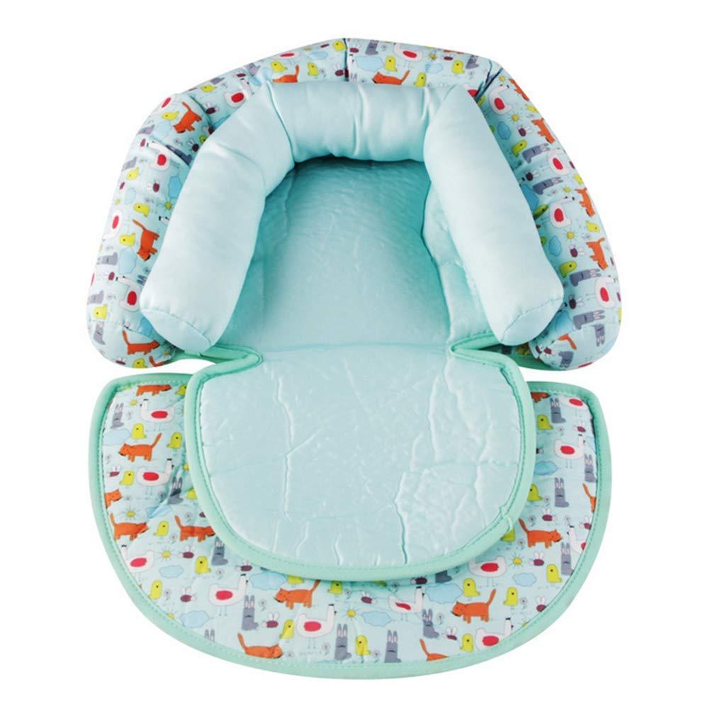 Snuzzler Polster für Babys Babykissen autositz Kopf und Nacken Support Nackenkissen mit Stützfunktion für Autositz, Kinderwagen, Babyschale (Blau) miteux
