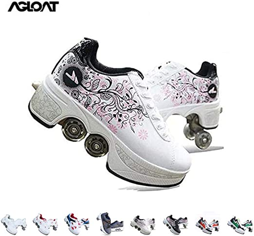 Roller Skates Girls,Shoes with Wheels