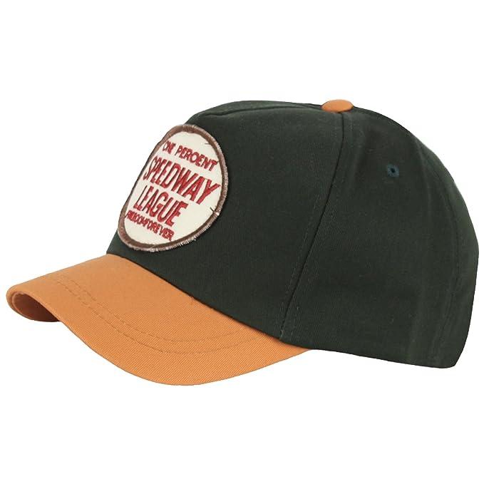 2de61310edcff2 RaOn B261 New Speed Way League Patch Short Bill Design Ball Cap Baseball  Hat Truckers (