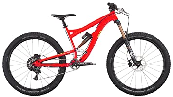 DiamondBack Mission Pro - Bicicleta de enduro, color rojo, 15""