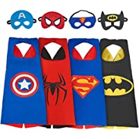 My-My Superhero Cape and Mask for Kids Costume and Dress Up - Best Gifts