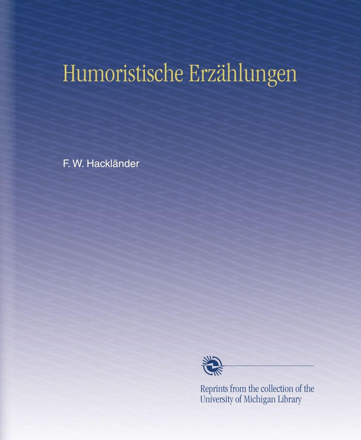 Humoristische Erzählungen (German Edition) pdf epub