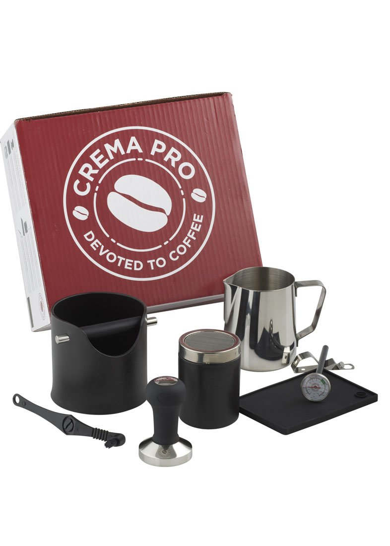 CREMA PRO Barista Kit - Make The Perfect Coffee or Espresso - Coffee Accessories - Easy & Quick Clean Up by CREMA PRO